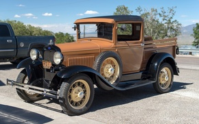 Picture style, Ford, classic, pickup, 1930