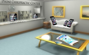 Picture iPhone, humor, Center, Chiropractic