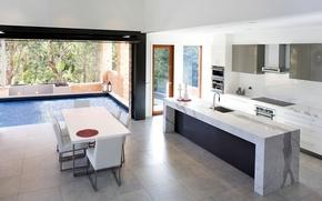 Picture design, house, style, Villa, interior, living space