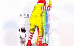 Wallpaper McDonald's, McDonalds, food