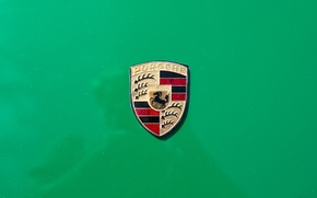 Picture sign, logo, Porsche 914