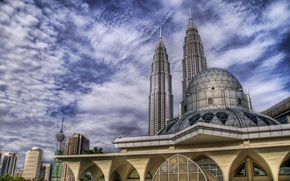 Picture clouds, landscape, The sky, the dome, Malaysia, Lumpuk
