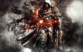 Picture artwork, Edward Kenway, Assassin's creed