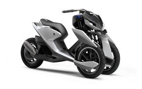 Picture concept, Yamaha, bike, prototype, motorcycle, comfort, technology, bold lines, beauty on wheels, tricycle, modernity, Yamaha …