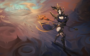 Picture girl, Diablo 3, reaper of souls, The enchantress