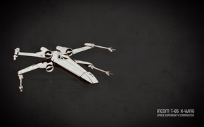 Picture star wars, t-65, x-wing, Incom