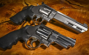 Picture weapons, background, the revolvers