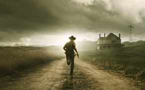 Wallpaper the series, the walking dead, Rick Grimes