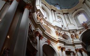 Picture gold, interior, Church, the Dominican Church