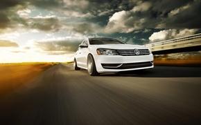 Picture volkswagen, sedan, Volkswagen, passat, Passat