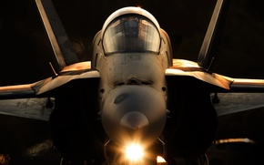 Picture weapons, army, the plane, F-18A Hornet