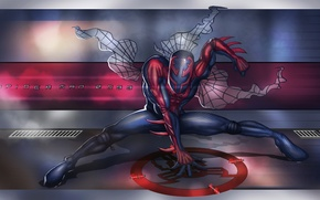 Picture costume, Marvel Comics, Spider-Man, Spider-Man 2099, Miguel O'Hara