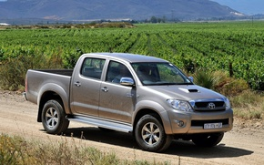 Picture Nature, Field, Auto, Japan, Wallpaper, Japan, Toyota, Car, Pickup, Auto, Hilux, Car, Wallpapers, Toyota, Double …