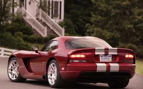 Picture red, Dodge, Dodge, Viper