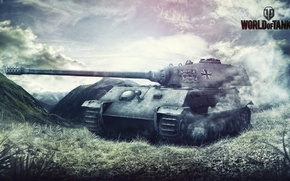 Picture World of Tanks, Game, Games, Art, FuriousGFX, VK 4502 (P) Ausf. B, Wargaming Net