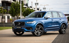 Wallpaper Volvo, XC90, Volvo, crossover