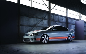 Wallpaper line, strip, garage, Ford, auto cars, cars pictures