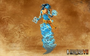 Picture art, art, Academy, heroes of might and magic 7, Might & Magic 7, Djinn
