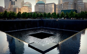 Picture memory, New York, USA, Museum, 11 Sep, National memorial, National September 11 Memorial