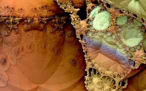 Picture abstraction, background, texture, form, Fractal