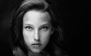 Picture portrait, girl, Tanya