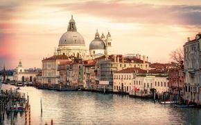 Picture Italy, Venice, Travel, Santa Maria della Salute, The Grand Canal