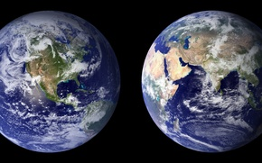 Picture water, land, planet, Africa