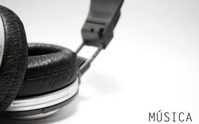 Picture macro, music, music, headphones, headphones, macro, 2557x1712, sony mdr xd100