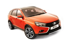 Picture 2015, Lada, Concept, background, Lada, Vesta, the concept, Vesta, universal