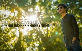 Picture summer, the city, black, glasses, male, guy, Shirt, Hublot, Kazakhstan, green, Bagozza, Pospan, Kazakh