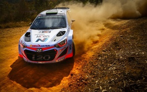 Picture Dust, Hyundai, WRC, Rally, Rally, i20, Hyundai