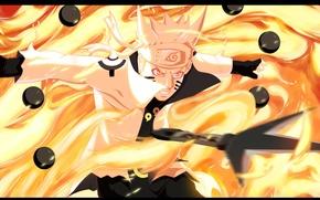 Picture Naruto, Anime, Flame, Wallpaper, Ninja, Uzumaki, Naruto Shippuden, Blonde Hair, Manga, Bijuu Dama, Chakra, Bijuu …