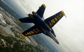 Picture aviation, USA, sky, Blue Angels