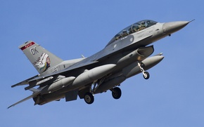 "Picture fighter, flight, Fighting Falcon, ""Fighting Falcon"", F-16D"
