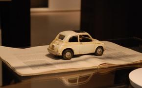Picture auto, toy, mirror, book, machine