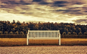 Picture Autumn, Bench, Autumn, Bench