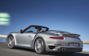 Picture 911, Porsche, Turbo, Cabriolet