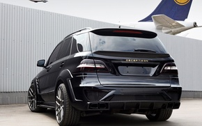 "Picture Mercedes-Benz, Ball Wed, '2013, Inferno ""Deceptikon"", ML 63 AMG, (W166)"