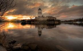 Picture autumn, Russia, Vyborg