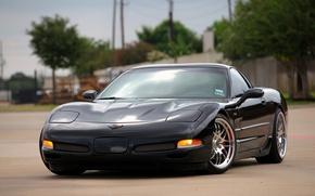 Picture Z06, Corvette, Chevrolet, Black