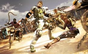 Picture Capcom, Chris Redfield, Resident Evil 5, Sheva Alomar, Biohazard 5, Majini
