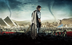 Picture Clouds, Sky, Gods, Warrior, with, Egypt, and, War, Sand, Mountains, Kings, God, Ridley Scott, Year, ...