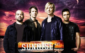 Picture music, logo, composition, Samu Haber, Raul Screen, Sunrise Avenue, Pop rock, Rock music, Riku Rajamaa, ...