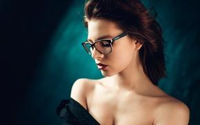 Picture portrait, glasses, Russia, George Chernyadev