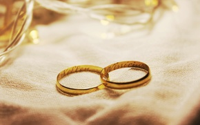 Picture ring, two, wedding