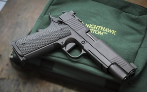 Picture weapons, gun, 9mm, background, Nighthawk