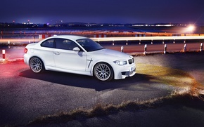 Picture BMW, the evening, front, autowalls, BMW 1M