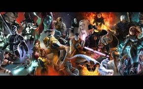 Picture character, magic, X-Men, marvel, comic, powers