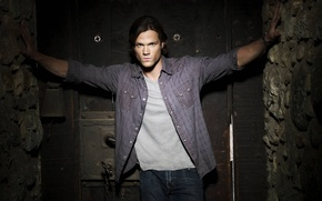 Picture actor, Supernatural, Supernatural, brunette, Sam, over the padalecki jared, Jared padalecki, sam winchester, Sam Winchester
