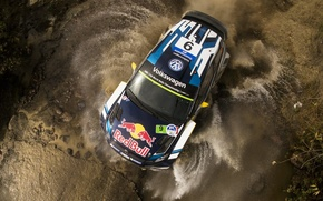 Picture Water, Volkswagen, Roof, WRC, Polo